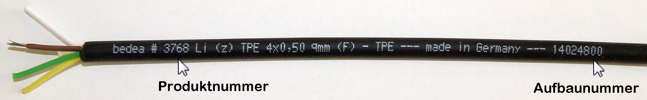 CE-Handling Cable