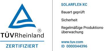 TÜV Rheinland - certificate